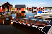 Small boat harbor with rowing boats by Intensivelight Panorama-Edition