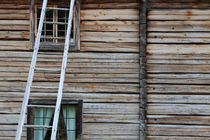 Wall of a wooden house by Intensivelight Panorama-Edition
