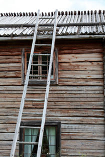 Wooden house and ladder by Intensivelight Panorama-Edition