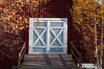 Blue barn door von Intensivelight Panorama-Edition