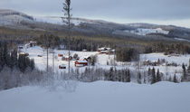 Swedish village in winter by Intensivelight Panorama-Edition