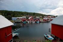 Swedish fishing village Boenhamn von Intensivelight Panorama-Edition