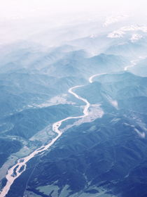 Above Mongolia 2 by Andras Neiser