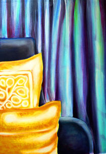Sessel mit zwei Kissen by Irina Usova