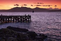 Arran Sunset von Paul messenger