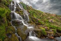 Brides veil Waterfall by Paul messenger