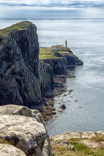 Neist Point Lighthouse by Paul messenger