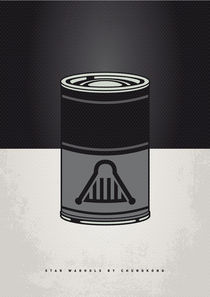 MY STAR WARHOLS DARTH VADER MINIMAL CAN POSTER by chungkong