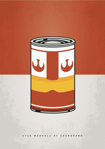 MY STAR WARHOLS LUKE SKYWALKER MINIMAL CAN POSTER von chungkong