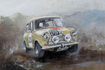 Mini Cooper rally car by Arthur Williams
