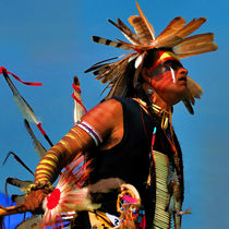 Chippewa grass dancer by Richard Wood