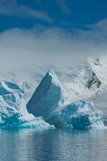 ANTARCTICA, ANTARCTIC PENINSULA, NEUMAYER CHANNEL, ICEBERG by Wolfgang Kaehler