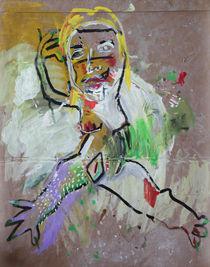 self portrait von Natalia Hoosova