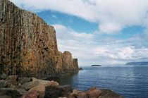 Basaltcliff at Stykkisholmur, Iceland by intothewide