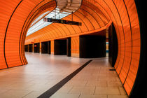 ORANGE SUBWAY STATION II. by Martin Dzurjanik