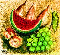 Obst und Früchte von Irina Usova