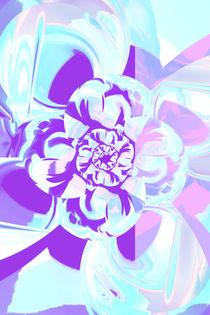 Blume abstrakt 3 von Christine Bässler