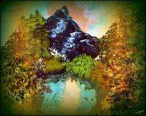 Bergsee von Vera Markgraf