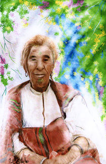 My grand  mother by Soltane Hocine