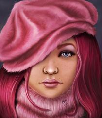 Winter Pink von Karla White