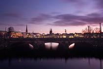 Lombardsbrücke von Simone Jahnke