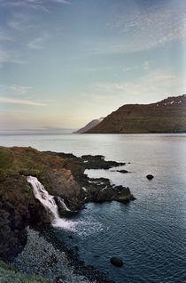 Waterfall in Loðmundarfjörður, Iceland by intothewide