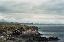 Cliff in Hellnar, Snaefellsnes, Iceland by intothewide