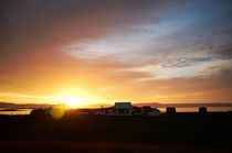 Sunset on Flatey, Iceland by intothewide
