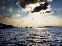 Bosphorus and Maiden's Tower by Andreas Gregor