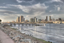 Downtown San Diego View von Rozalia Toth