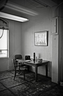 Guard dining area in Alcatraz prison von RicardMN Photography