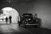 1940 Chevrolet pickup truck in Alcatraz Prison by RicardMN Photography