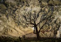 schiefer Baum  by Barbara  Keichel