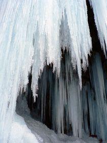 Waterfall Of Ice (2) by Nadezhda Petrova