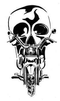Dark Rider von Katerina Kopaeva