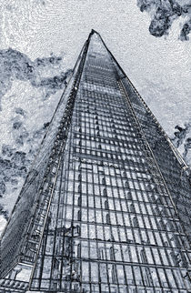 The Shard London Art von David Pyatt