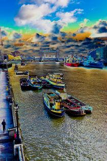 River Thames Art von David Pyatt
