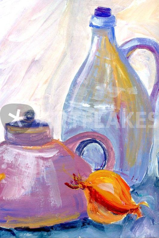 """""""bild für die küche"""" malerei als poster und kunstdruck von"""