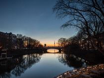 Alster #2- Hamburg,Germany von Arkadius Ozimek