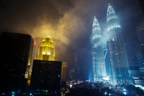 Petronas Towers by Carl  Jansson