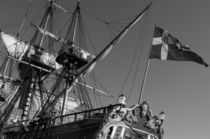 Tall ship Goeteborg - monochrome von Intensivelight Panorama-Edition