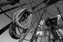 Ropes and rigging - monochrome by Intensivelight Panorama-Edition