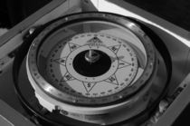 Compass - monochrome von Intensivelight Panorama-Edition