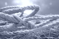 Ropes and nets - monochrome von Intensivelight Panorama-Edition