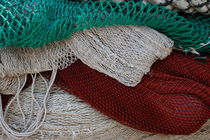 Stacked fishing nets von Intensivelight Panorama-Edition