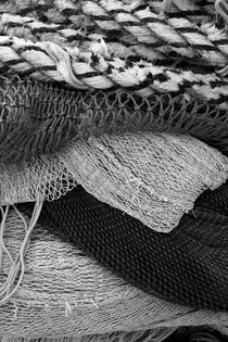 Stacked nets and ropes - monochrome by Intensivelight Panorama-Edition