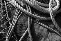 Net and ropes - monochrome von Intensivelight Panorama-Edition