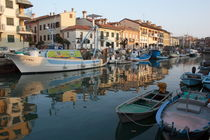 Fishing boats in Grado by Intensivelight Panorama-Edition