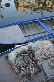 Fisherboat and nets by Intensivelight Panorama-Edition