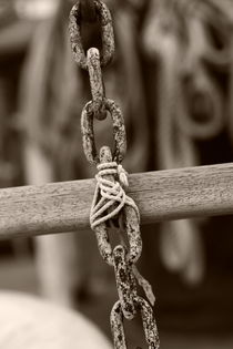 Detail of the rigging - sepia by Intensivelight Panorama-Edition